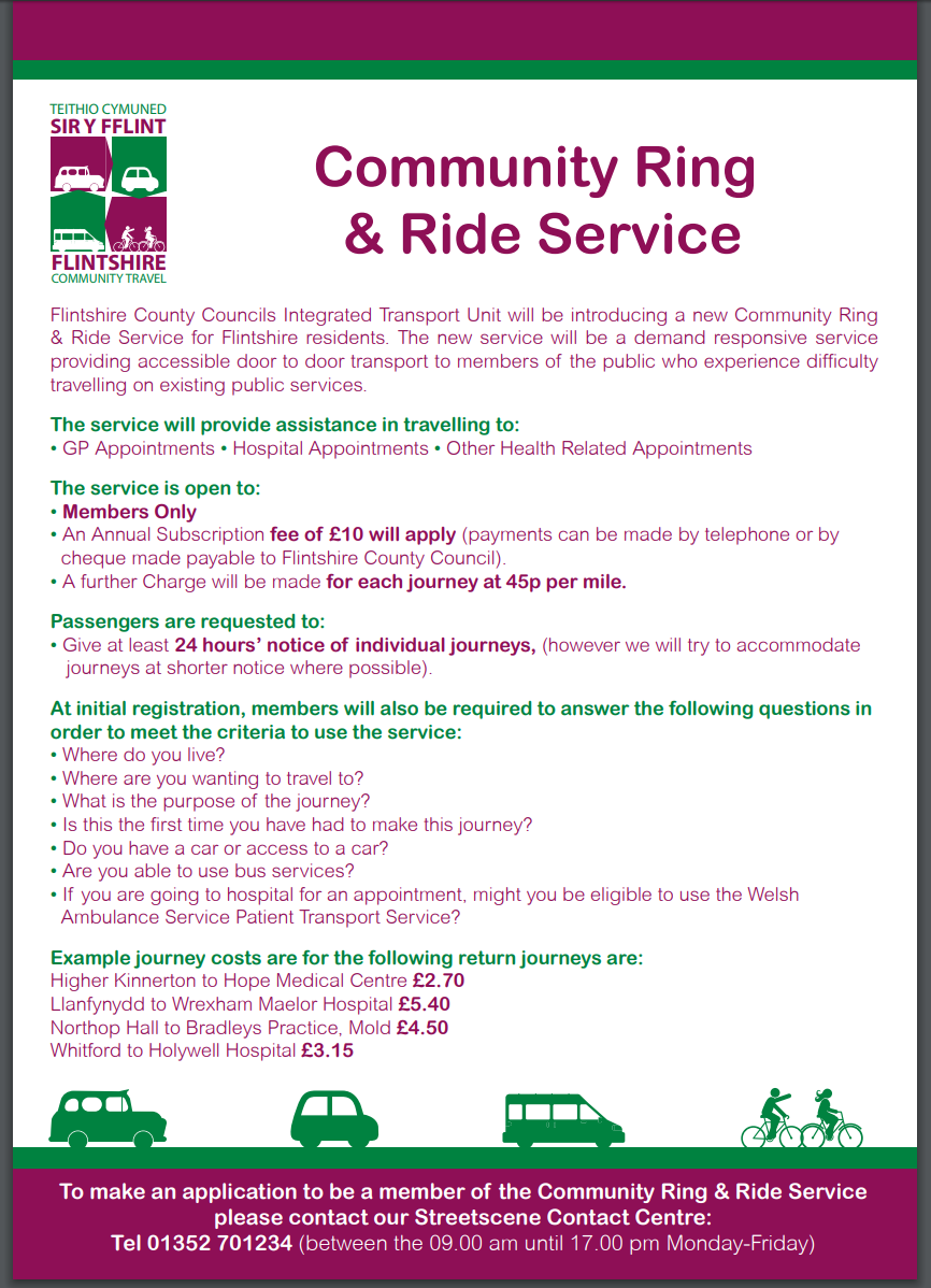 Community Ring & Ride Service