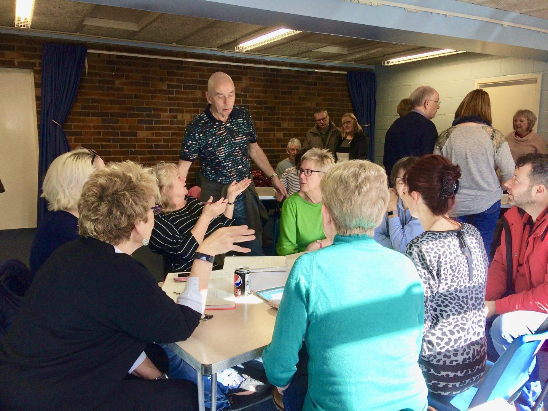 Volunteer Group Gets Underway