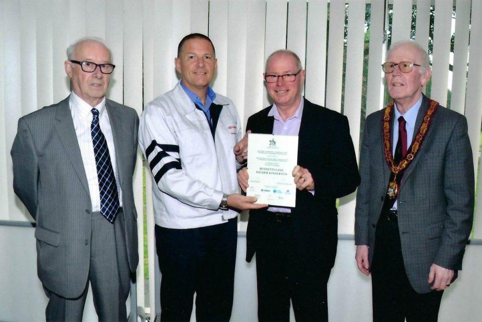 Bennetts Lane Certificate Merit 2016
