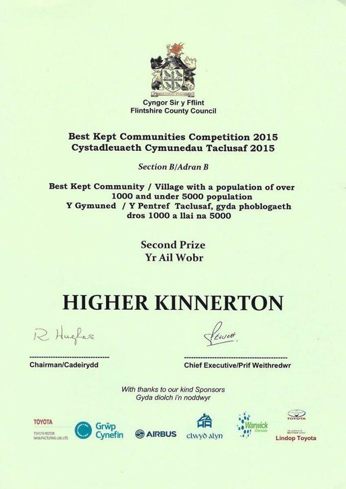 Best Kept Community 2015