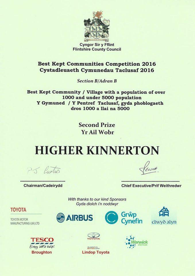 Best Kept Community 2016