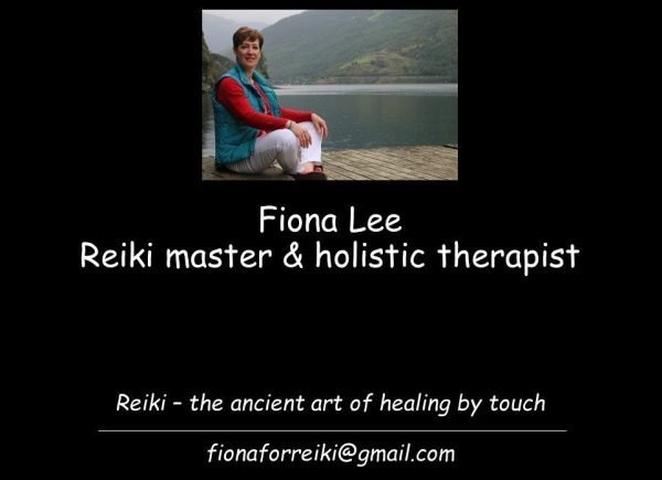 Fiona for Reiki – the ancient art of healing by touch