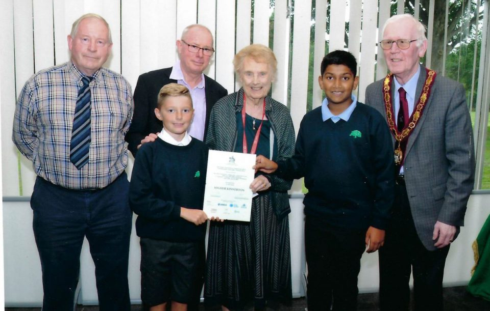 Higher Kinnerton 2016 Award